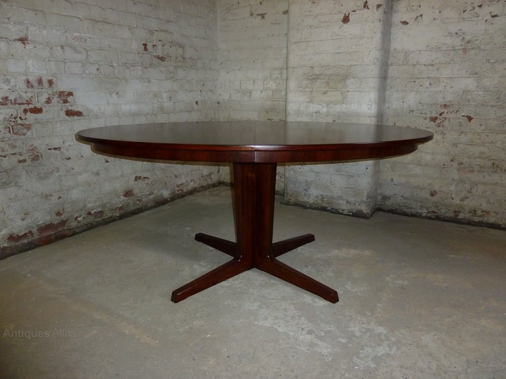Antiques Atlas Danish Oval Extending Pedestal Rosewood