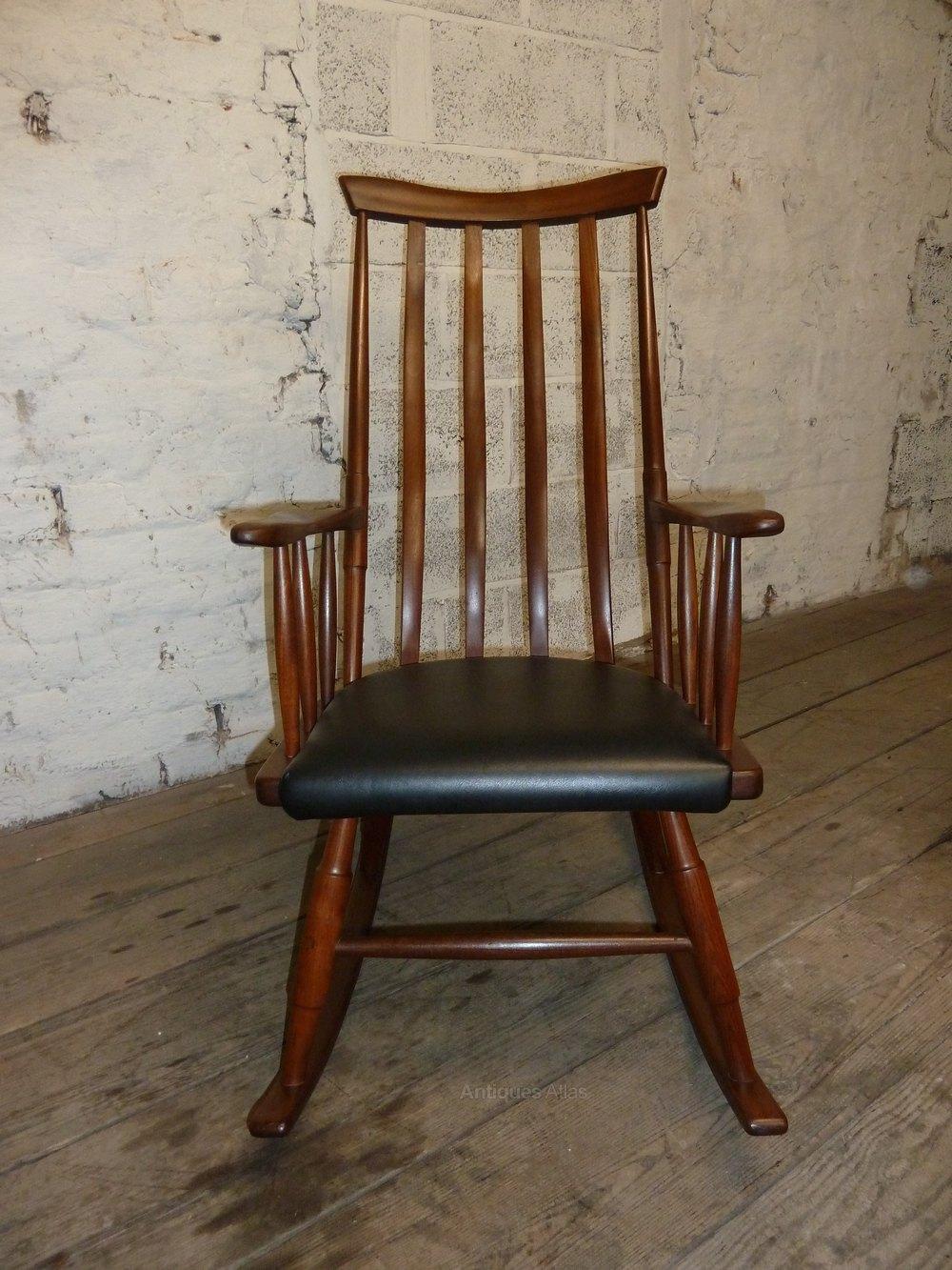 Antiques Atlas Danish Teak Vintage Retro Rocking Chair