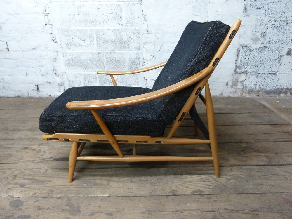 Armchairs Ercol Model 442  Antiques Atlas   Ercol Model 442 Bergere Armchair Easy Lounge Chair. Ercol Easy Chairs For Sale. Home Design Ideas