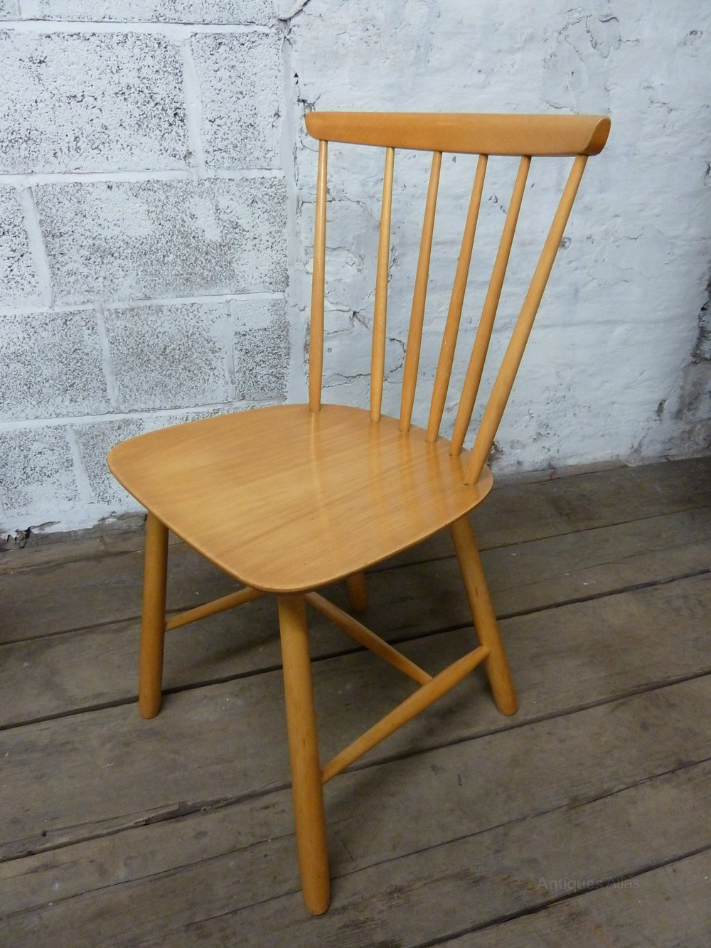 Antiques Atlas Mid Century Danish Stick Back Chair By