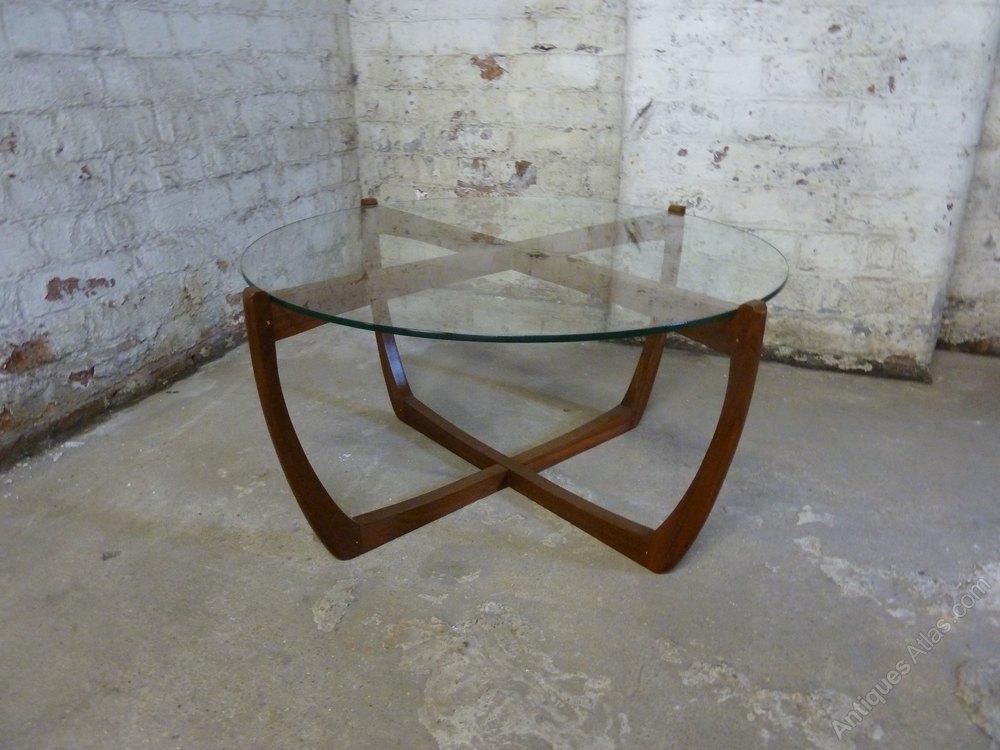 Antiques atlas mid century teak coffee table circular for Teak coffee table