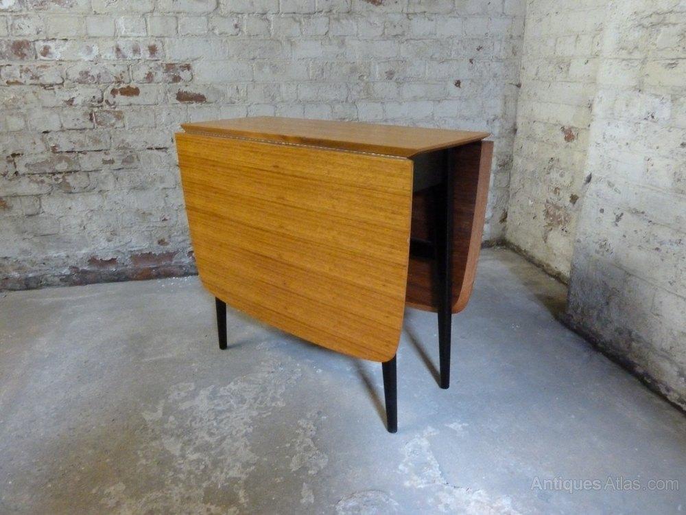 Antiques Atlas Teak Drop Leaf Dining Kitchen Table 4 Chairs