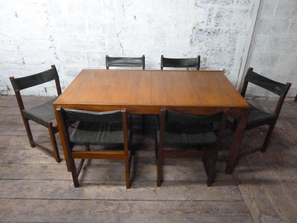 Antiques Atlas Teak Extending Dining Table And Chairs