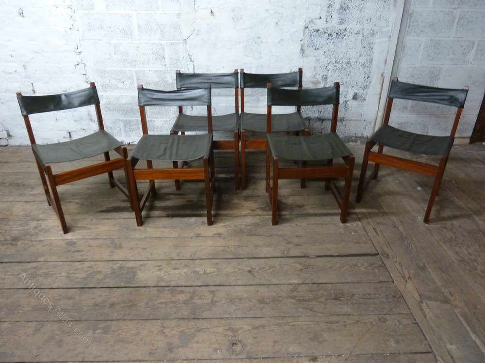 Antiques atlas teak extending dining table and chairs for Extending dining table and chairs