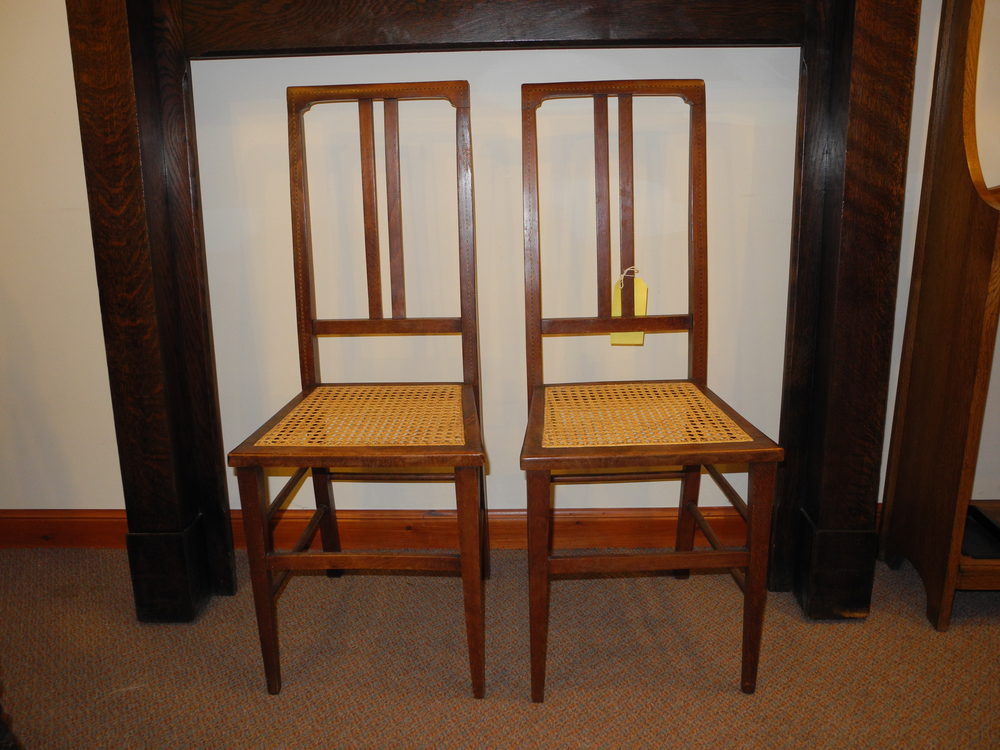 Fine Pair Of Edwardian Bedroom Chairs Antiques Atlas