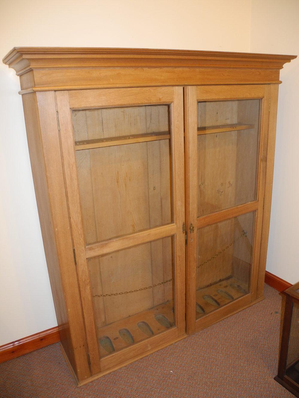 ... large pine gun cabinet antiques atlas ... - 28+ [ Antique Gun Cabinet For Sale ] Antique Black Forest Antler