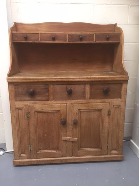 Scottish Victorian Pitch Pine Kitchen Dresser Antiques Atlas