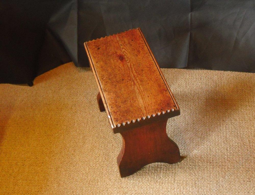 Small th century pine stool antiques atlas