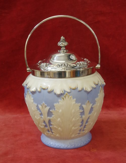 Locke And Co Worcester Biscuit Barrel