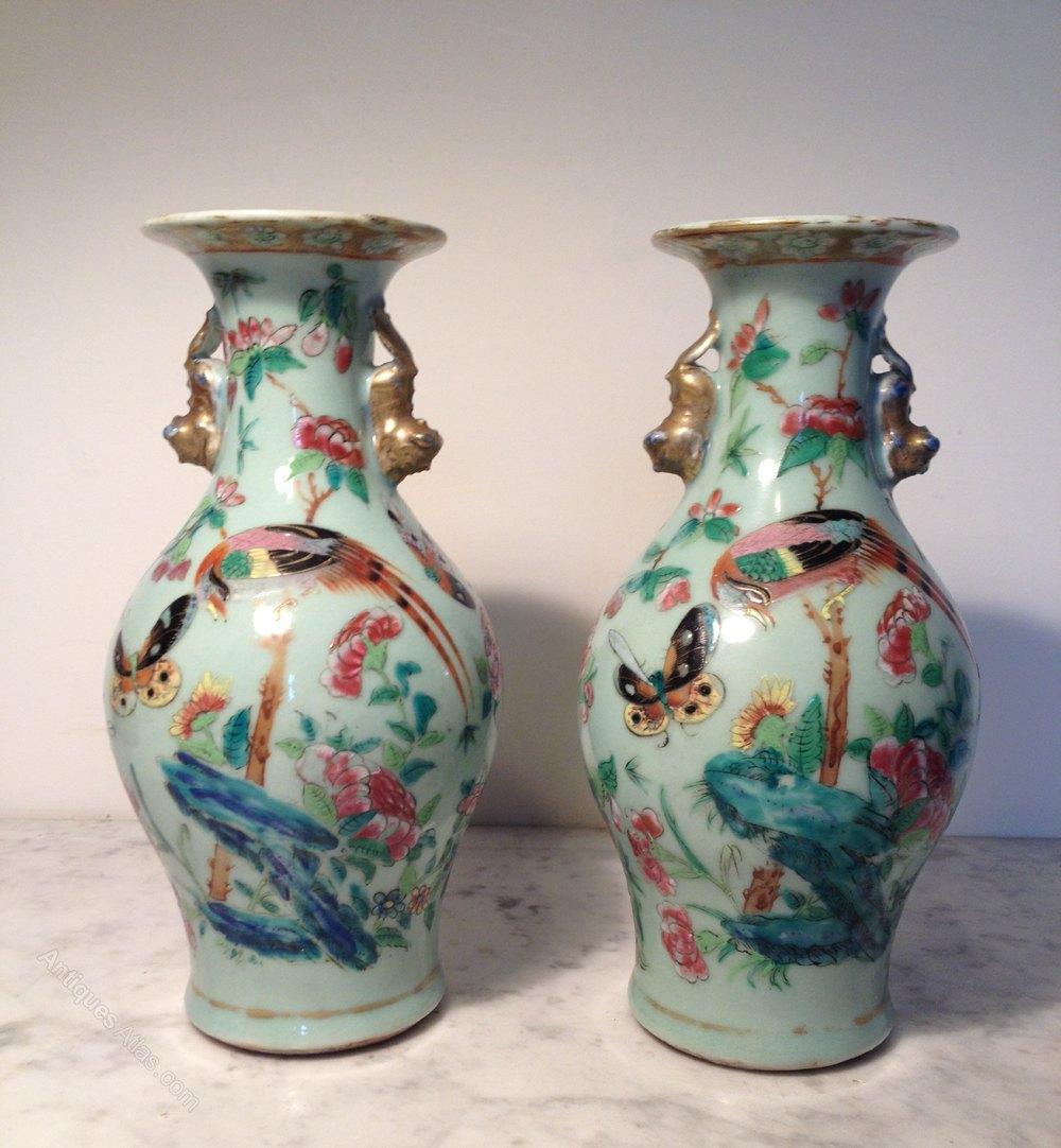 Antiques Atlas Pair Chinese Vases