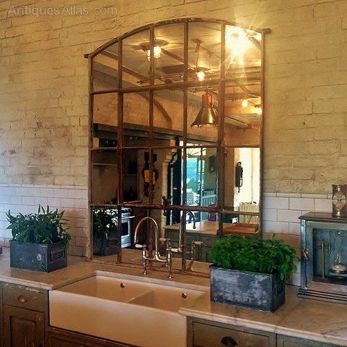 Antiques Atlas Large Slow Arch Industrial Rustic Window