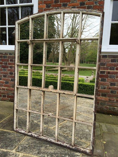 Antiques Atlas Slow Arch Garden Arcitectural Window Mirror