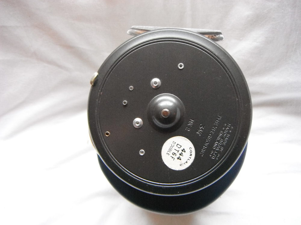 Antiques atlas fishing reel by hardy bros for Antique fishing reels price guide