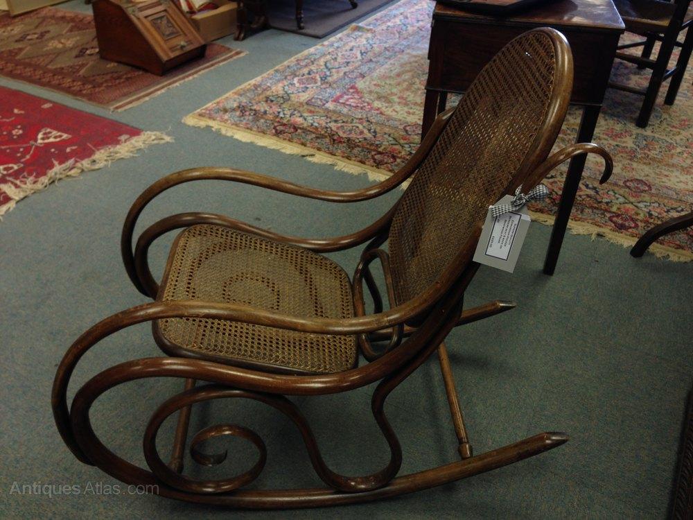 Bentwood Bergere Rocking Chair Antiques Atlas