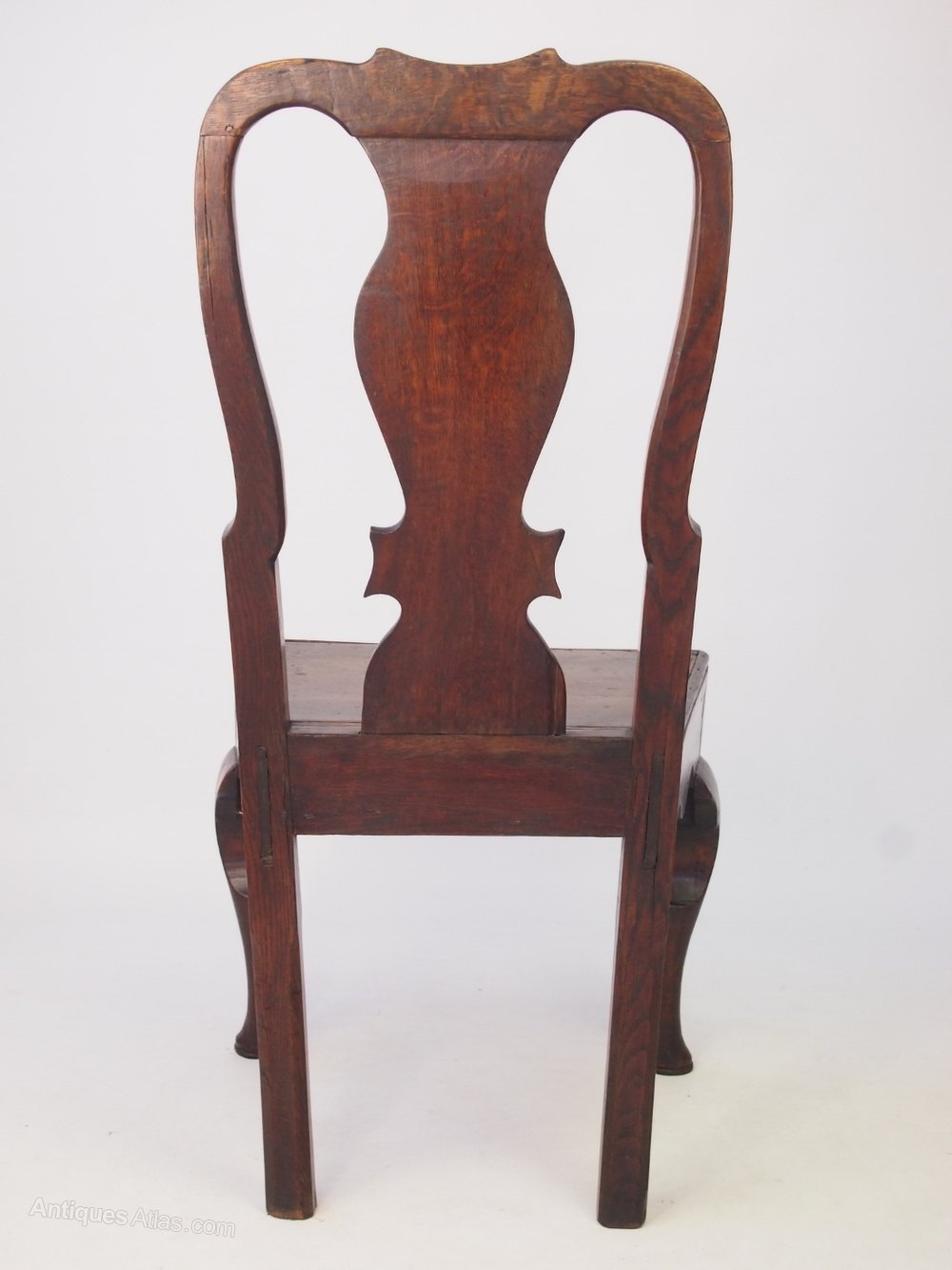 18th Century Antique Oak Side Chair- Hall Chair - Antiques Atlas