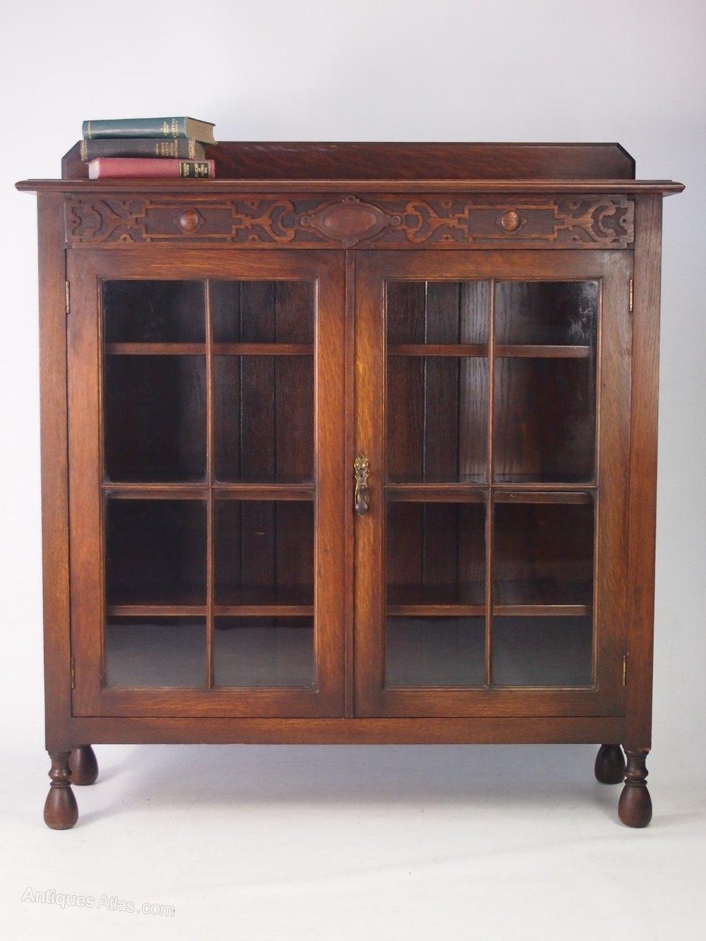 Antique Edwardian Oak Bookcase Antiques Atlas