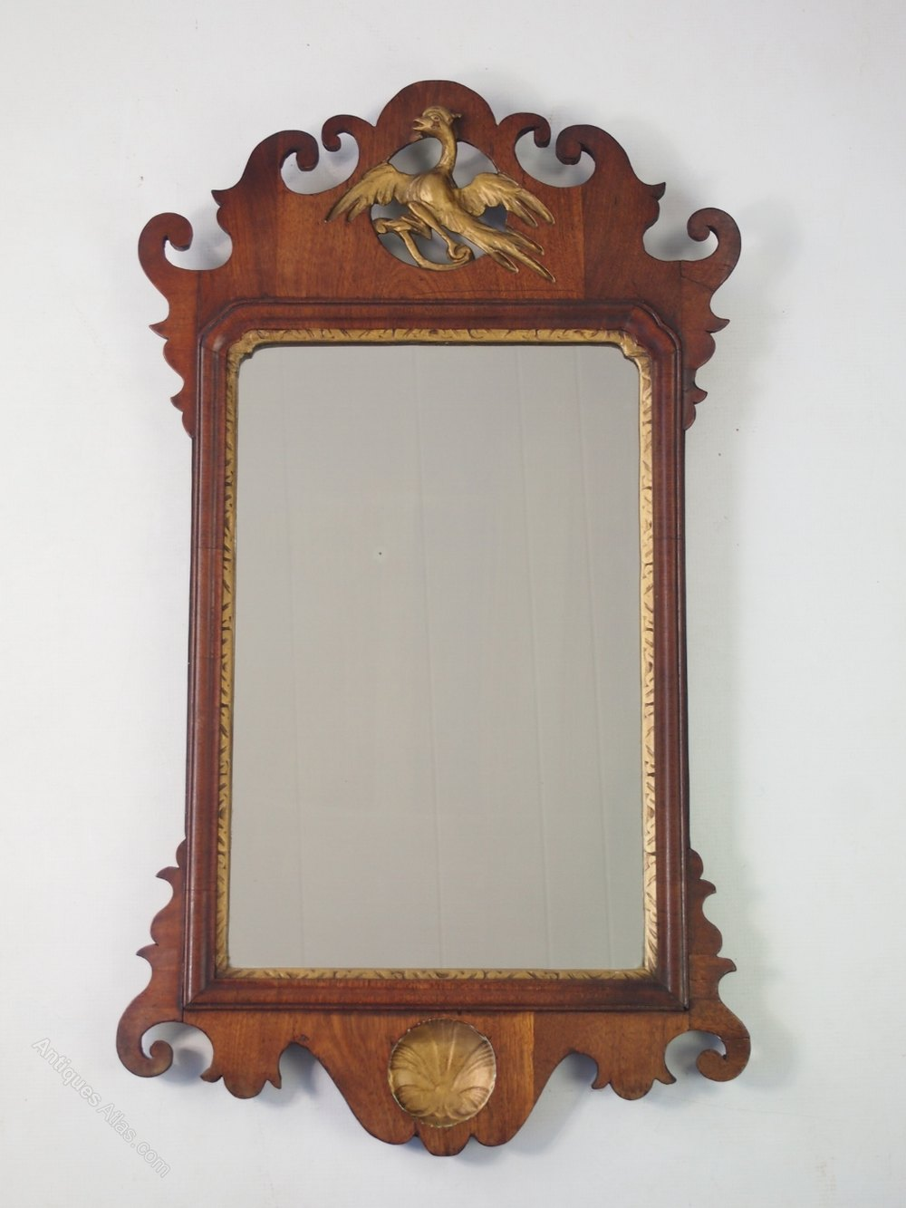 Antiques atlas antique georgian fretwork wall mirror for Antique wall mirrors