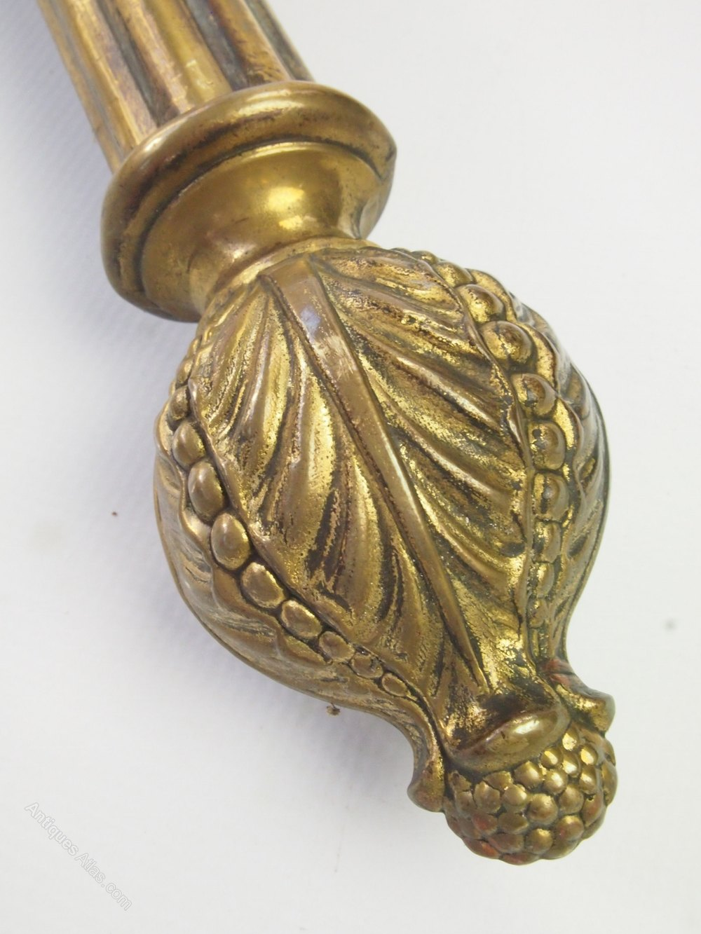 Antiques Atlas Antique Victorian Brass Curtain Pole Rings
