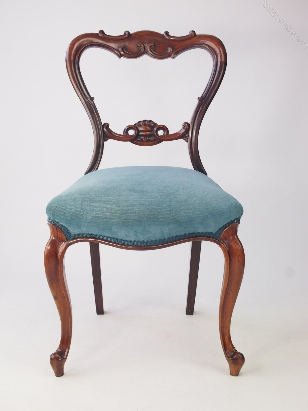 Antique Victorian Rosewood Balloon Back Chair Antiques Atlas