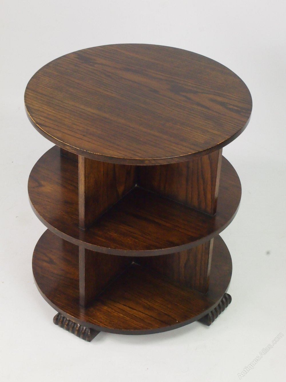 art deco oak book table or coffee table antiques atlas. Black Bedroom Furniture Sets. Home Design Ideas