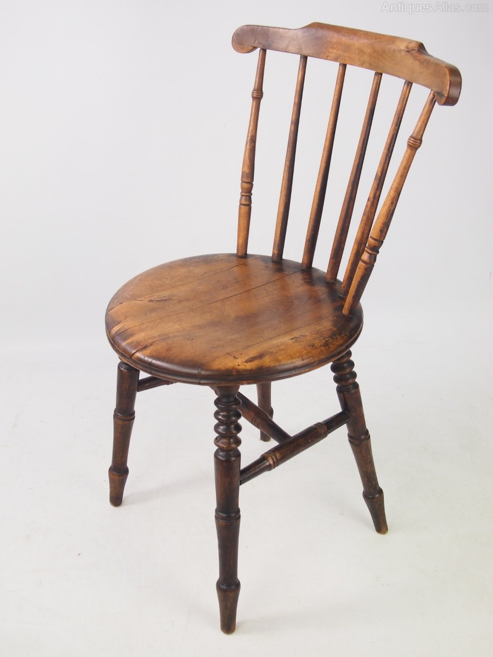Harlequin Set 6 Ibex Victorian Kitchen Chairs Antiques Atlas