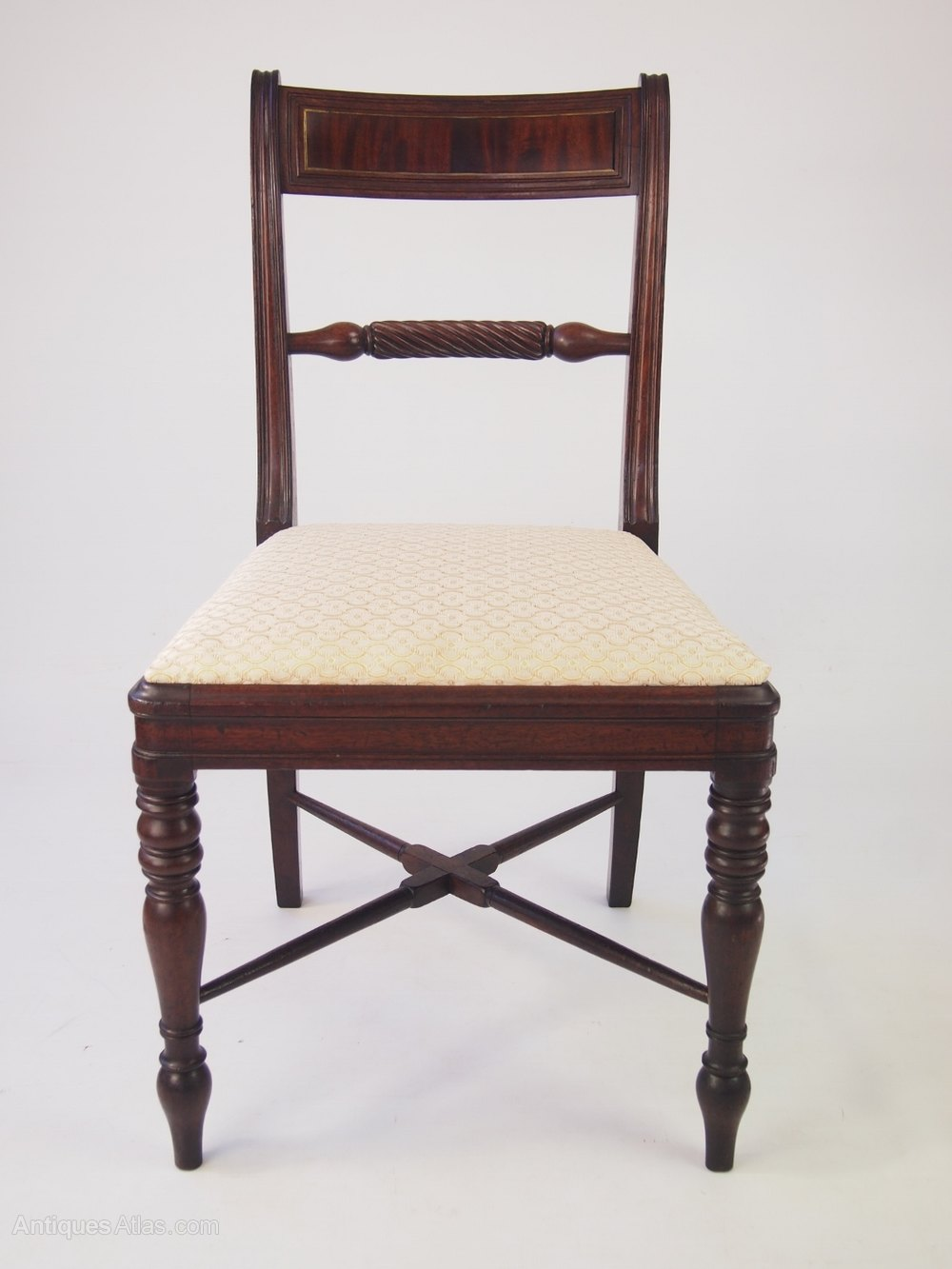 Harlequin Set Of 6 Antique Regency Dining Chairs Antiques Atlas