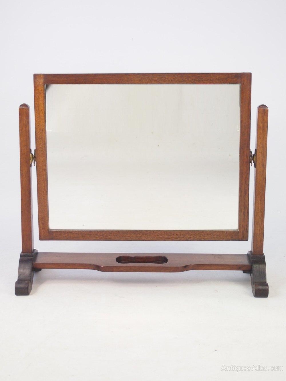 Antiques Atlas Mahogany Dressing Table Mirror