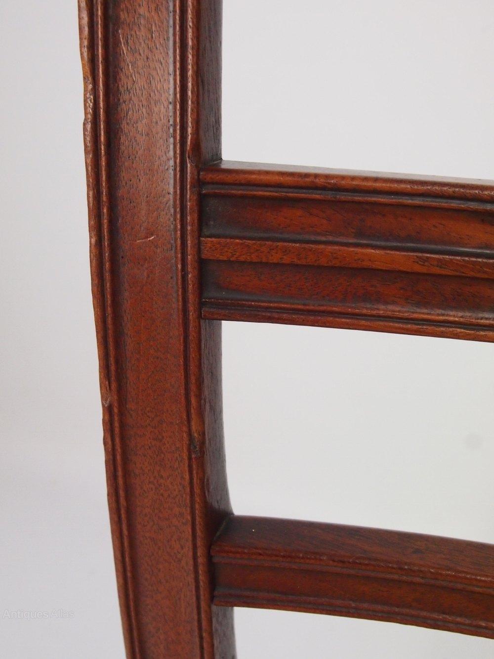 Set 4 Regency Mahogany Dining Chairs Antiques Atlas