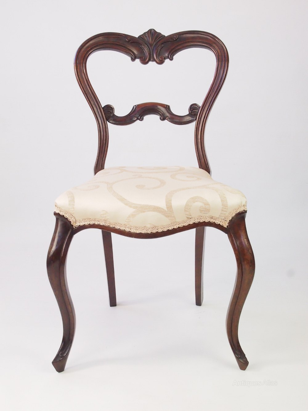 Antique victorian dining chairs - Set 4 Victorian Rosewood Balloon Back Chairs Chair Sets Of 4 Antique Dining Chairs