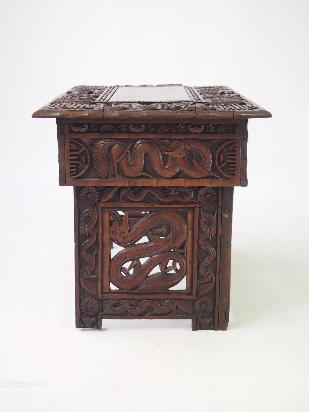 Small Carved Chinese Table Coffee Table Antiques Atlas