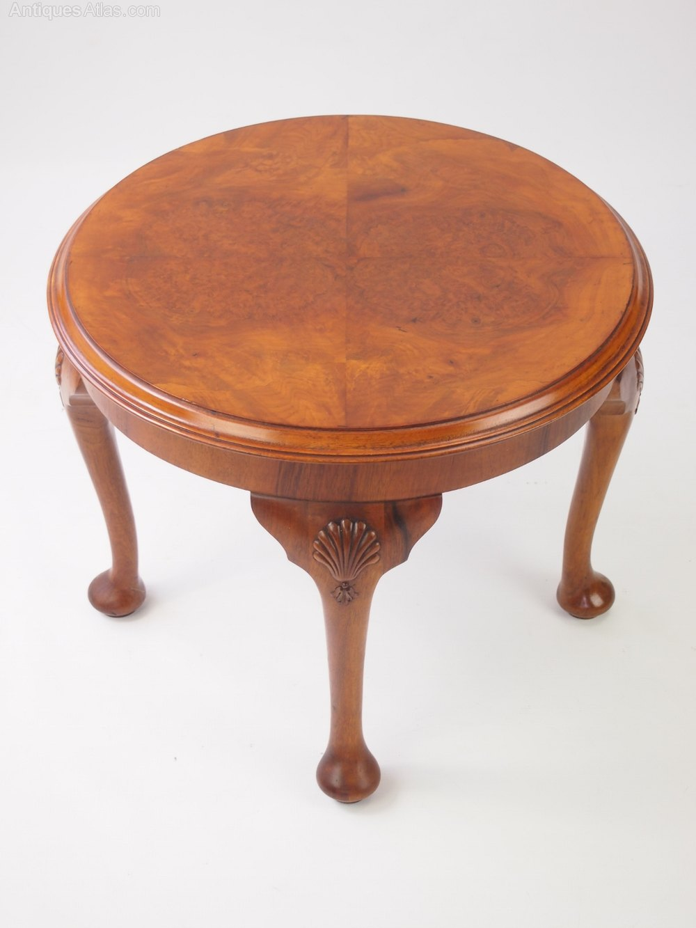 Small Walnut Coffee Table Circa 1920s Antiques Atlas