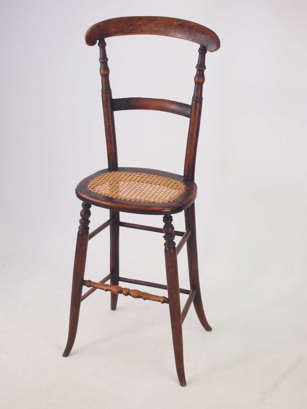 Victorian Childs Correction Or Deportment Chair Antiques