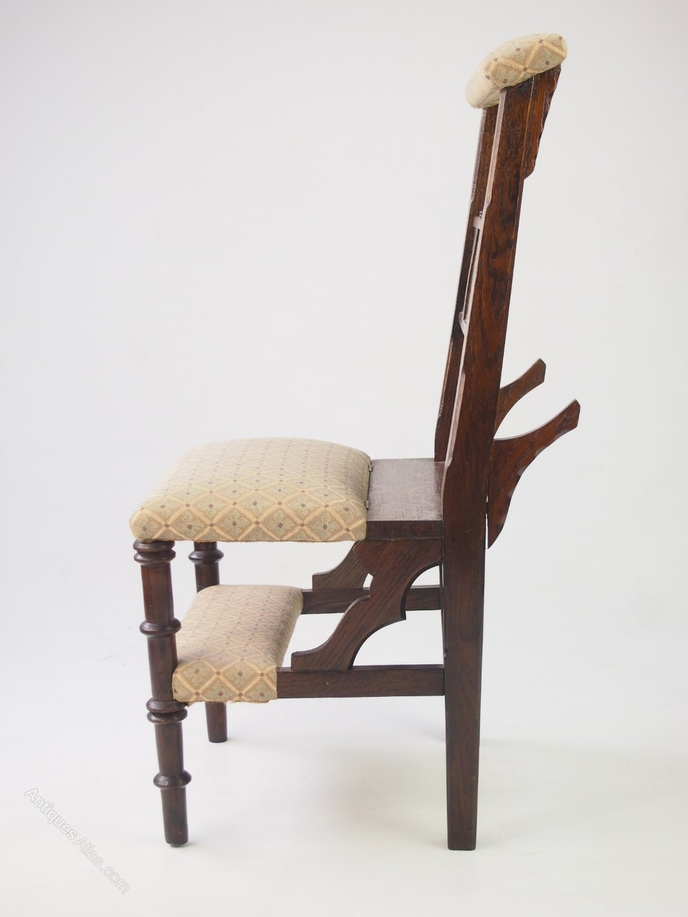 Foyer Chair Quotes : Victorian metamorphic prayer chair prie dieu antiques