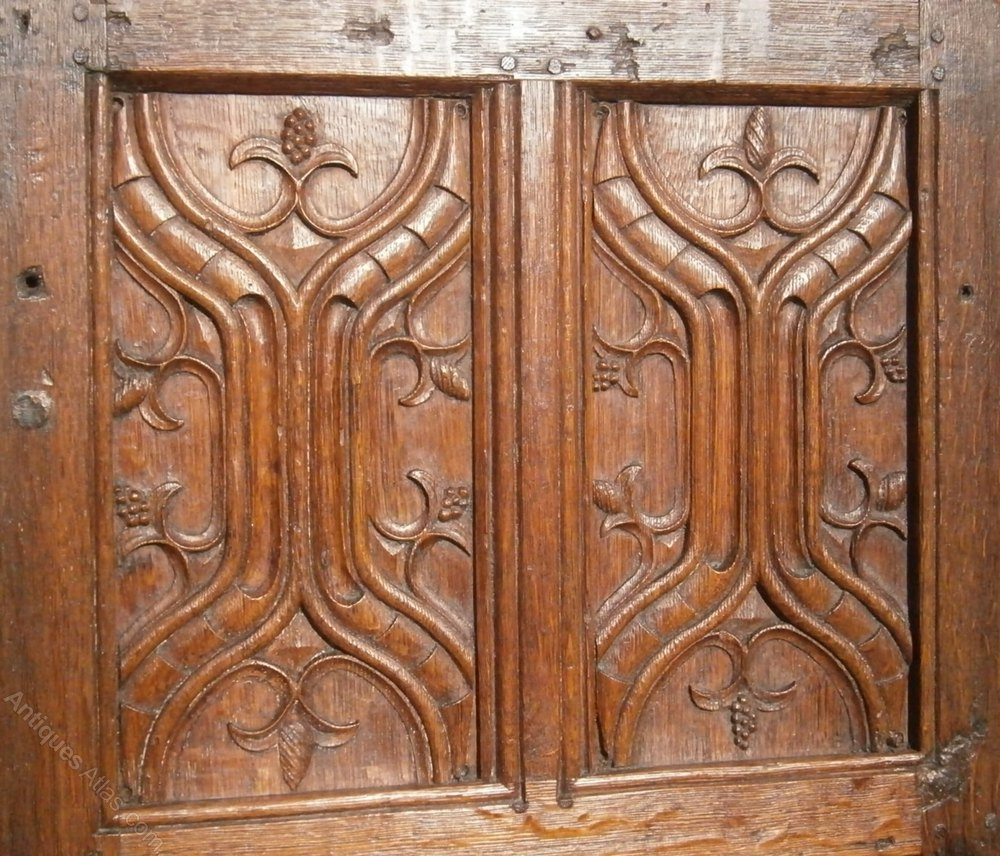 Antiques atlas th century carved oak parchemin panels