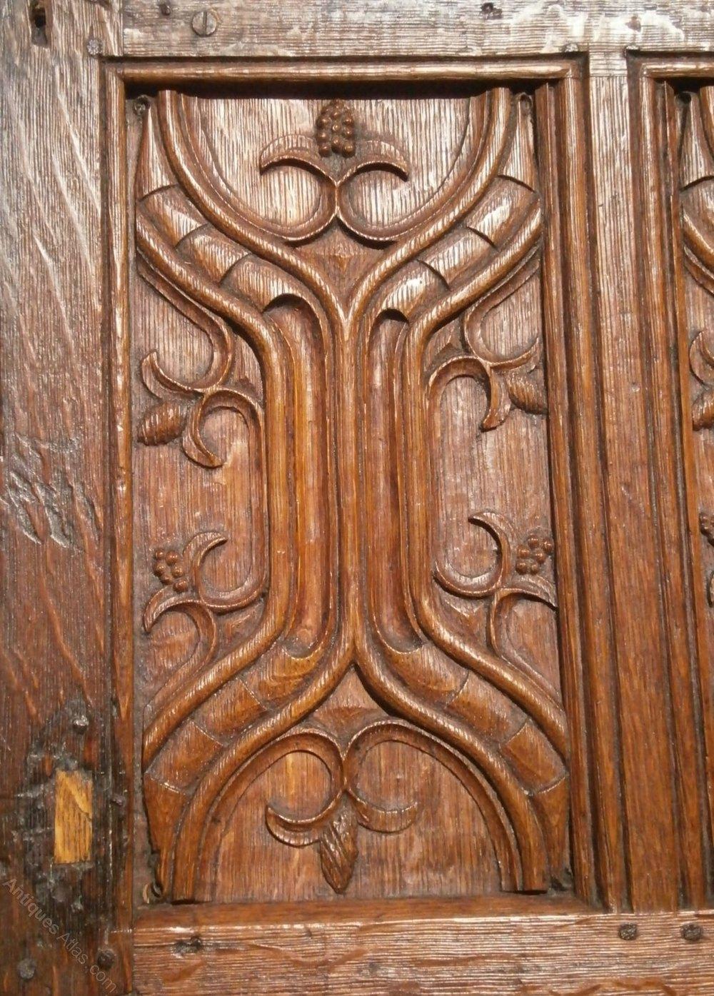 Antiques atlas th century carved oak parchemin panels