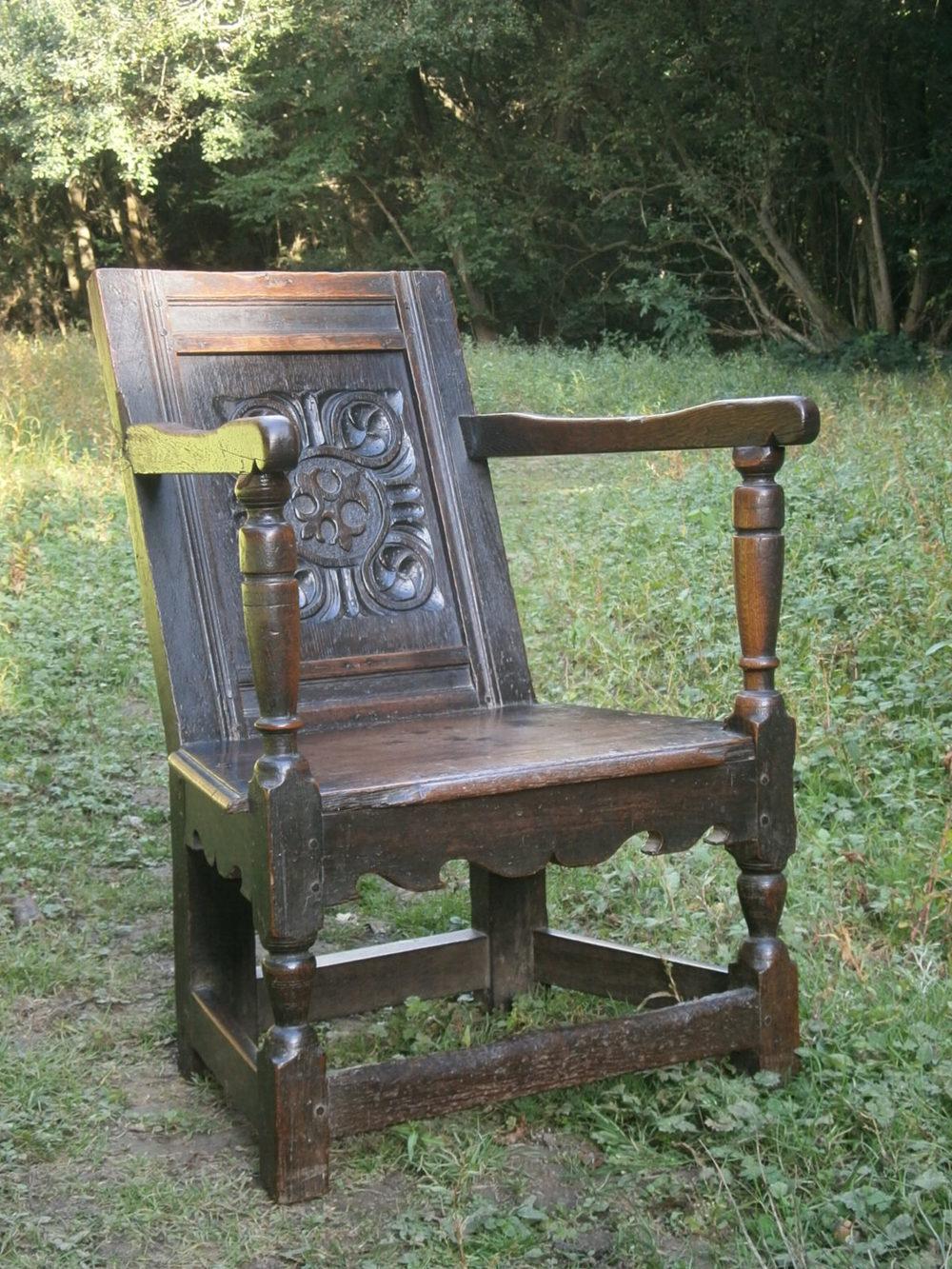 16th Century Elizabethan Oak Wainscot Chair Antiques Atlas