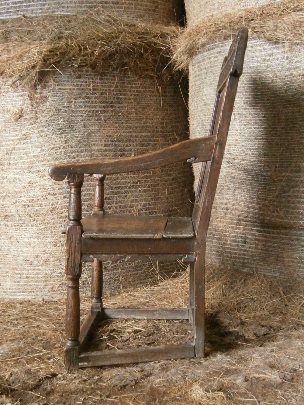 An Early 17th Century Oak Wainscot Chair Antiques Atlas