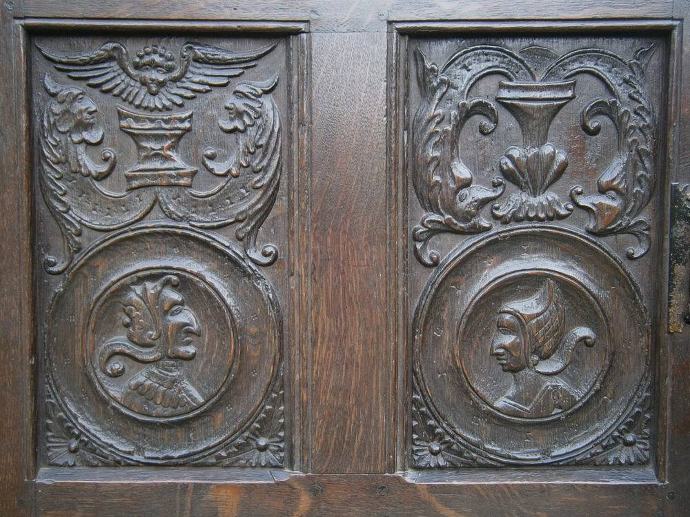 Antiques Atlas Six 16th Century English Oak Romayne Panels