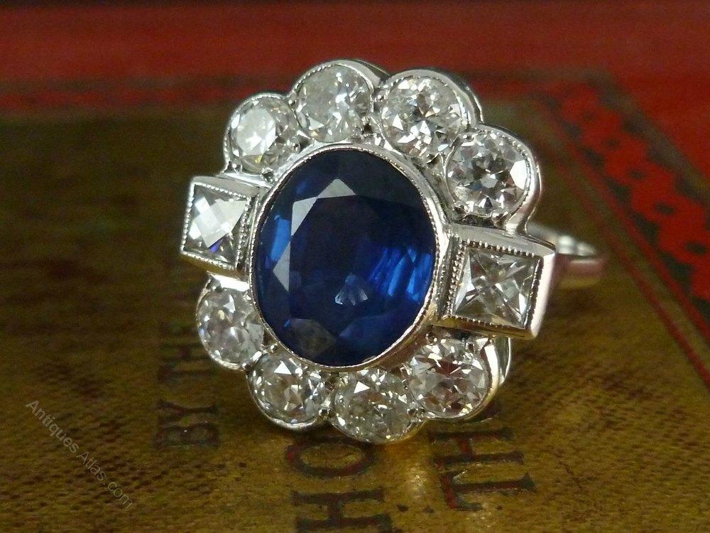 Sapphire And Diamond Ring Uk