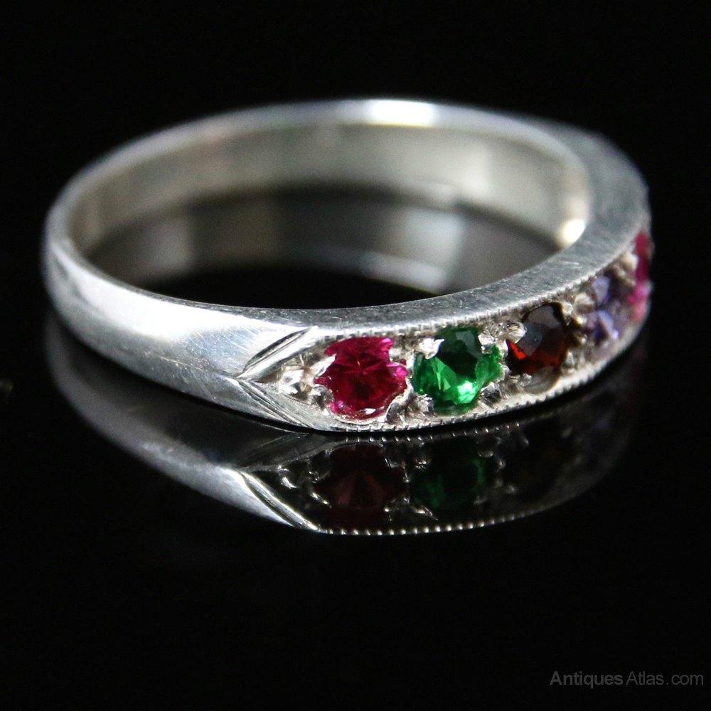 Ruby Or Garnet Ring