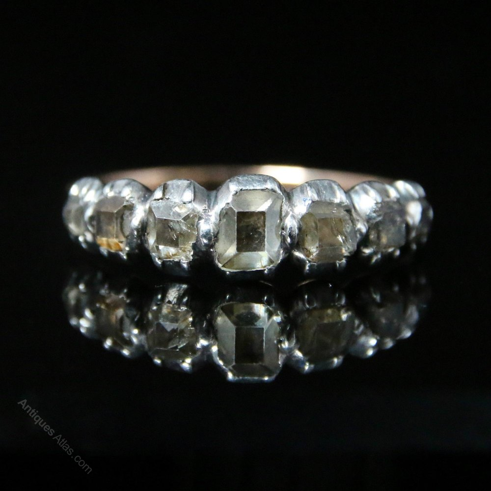 Eternity Engagement And Wedding Ring Sets 89 Epic Table Cut Diamond Half