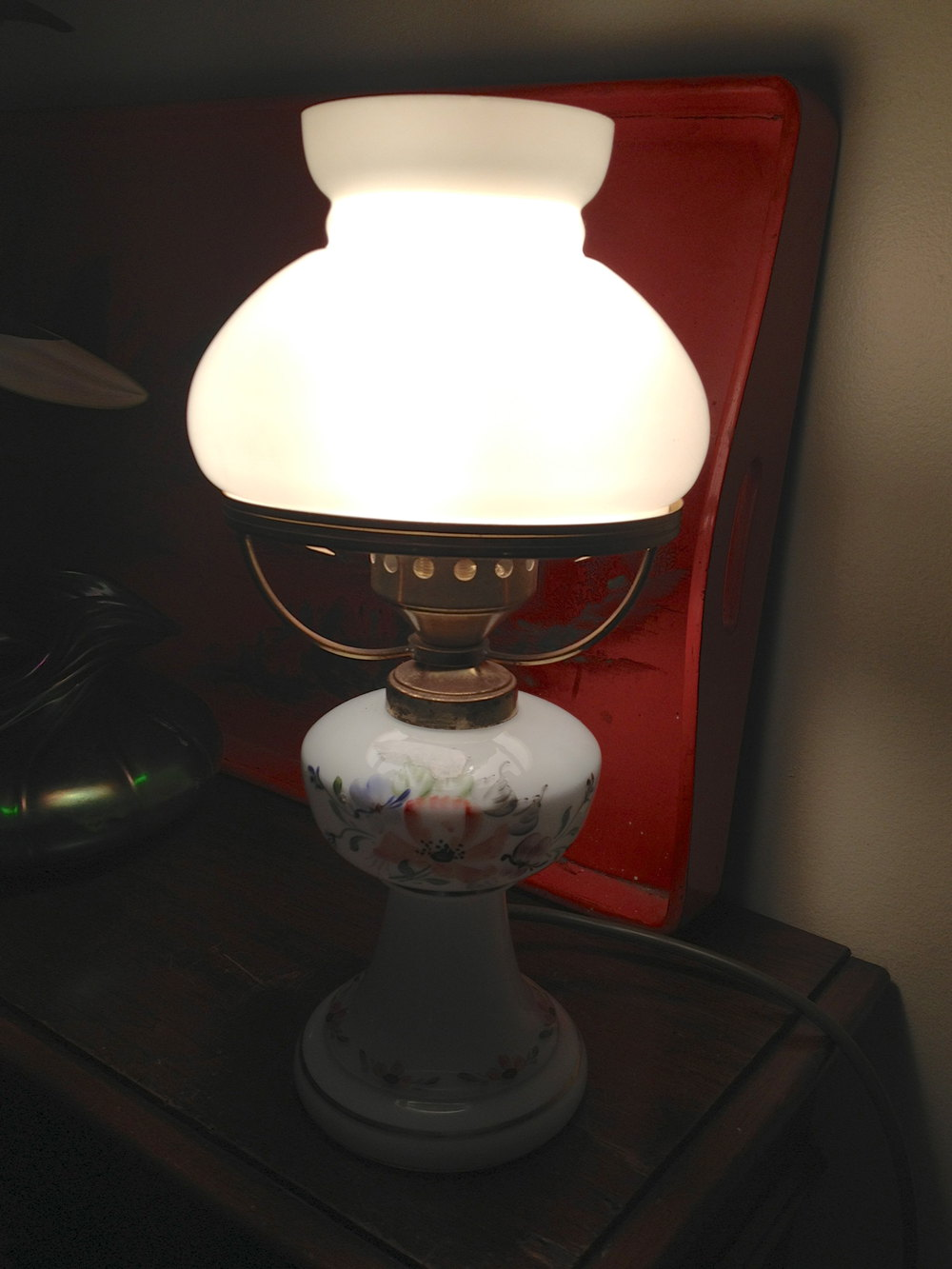 Antiques Atlas 1930 Table Lamp In Porcelain