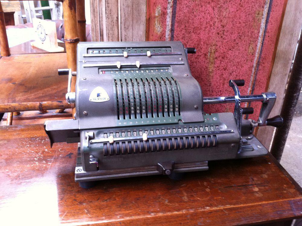 antique adding machine for sale