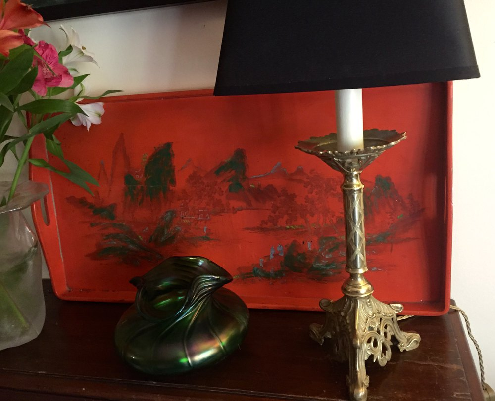 Antiques atlas 19th century table lamp bronze for Z gallerie century table lamp