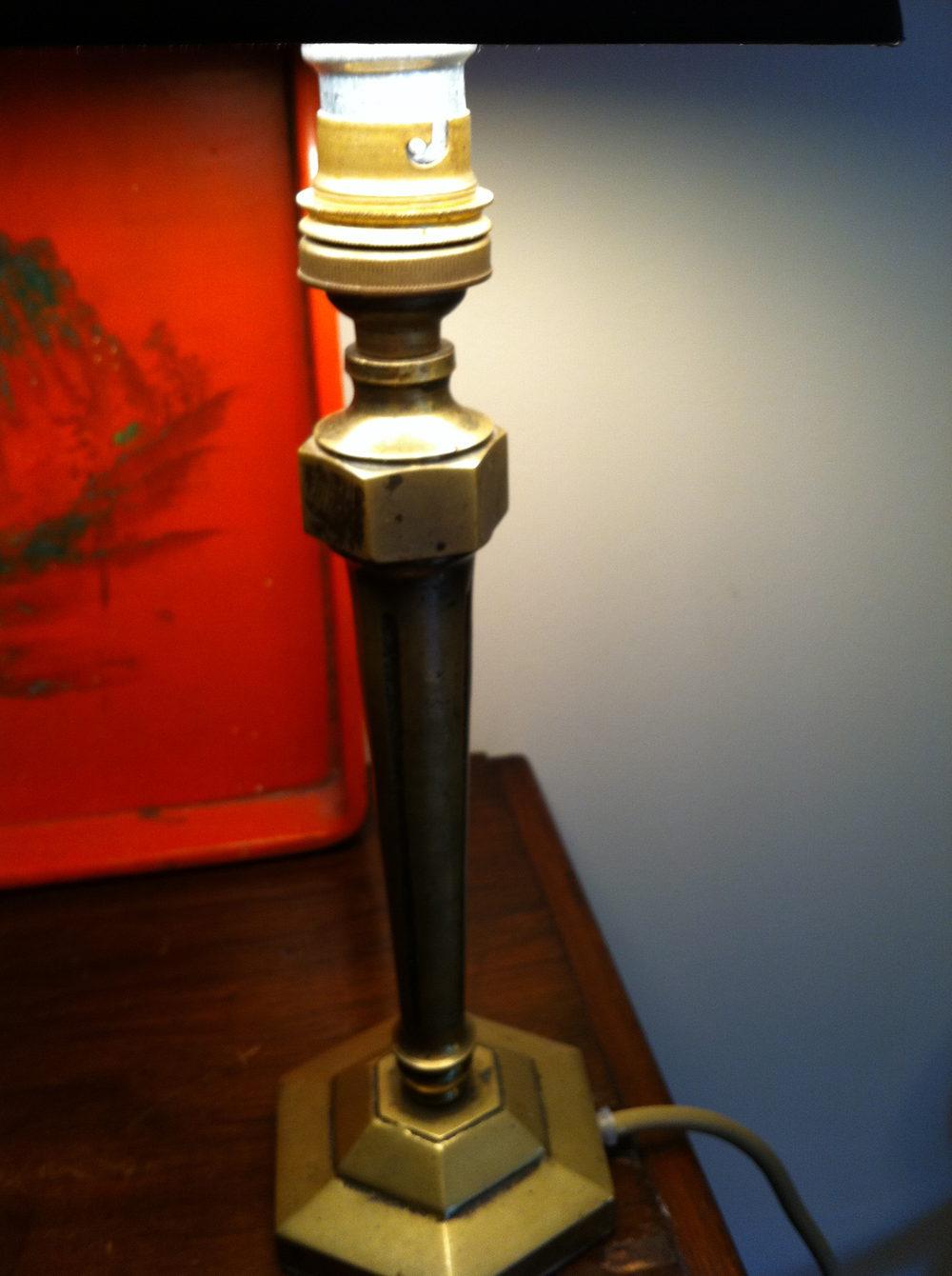 Antiques Atlas Art Nouveau Bedside Console Lamp In Bronze