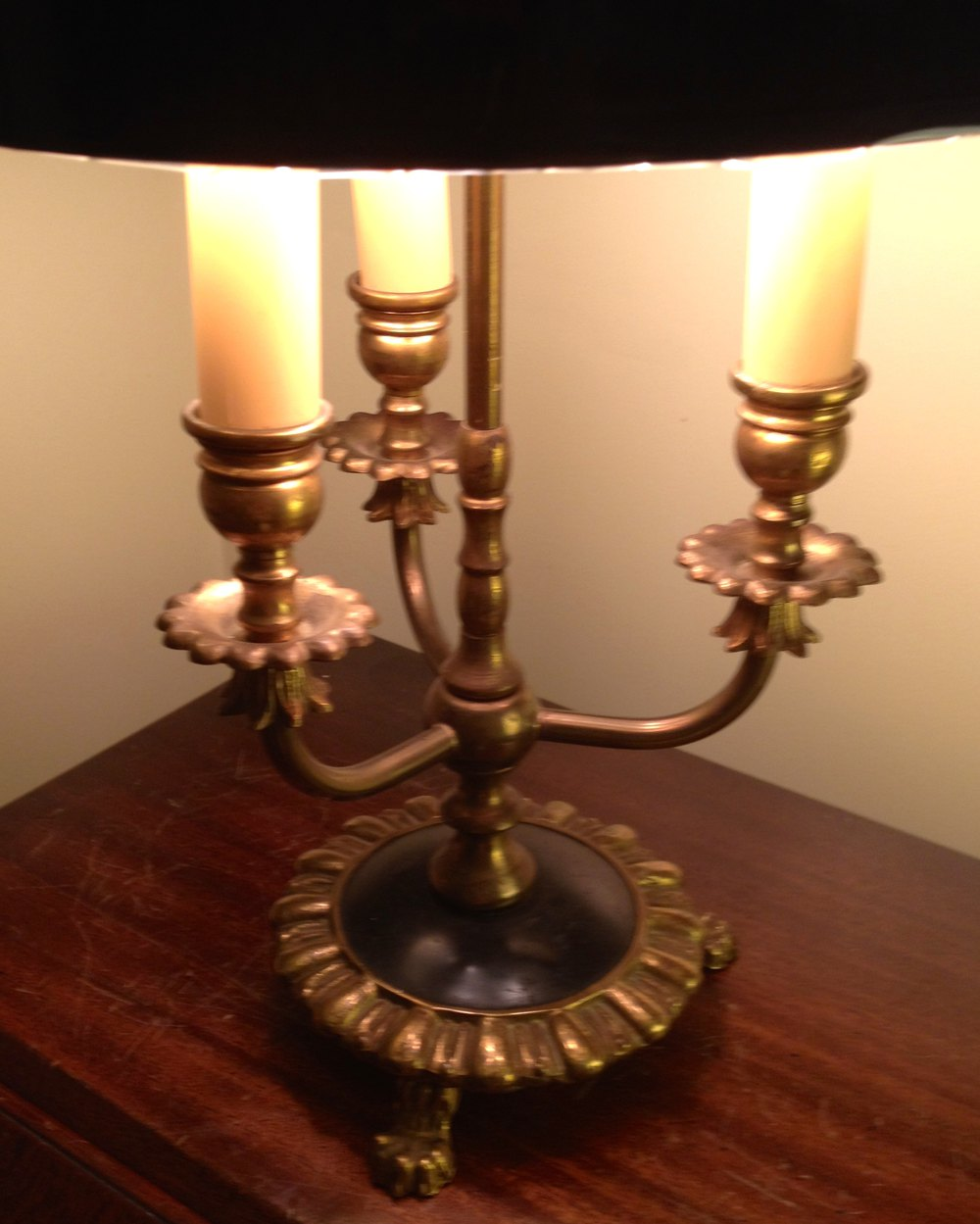 antiques atlas one of three classic 1900 lampe. Black Bedroom Furniture Sets. Home Design Ideas