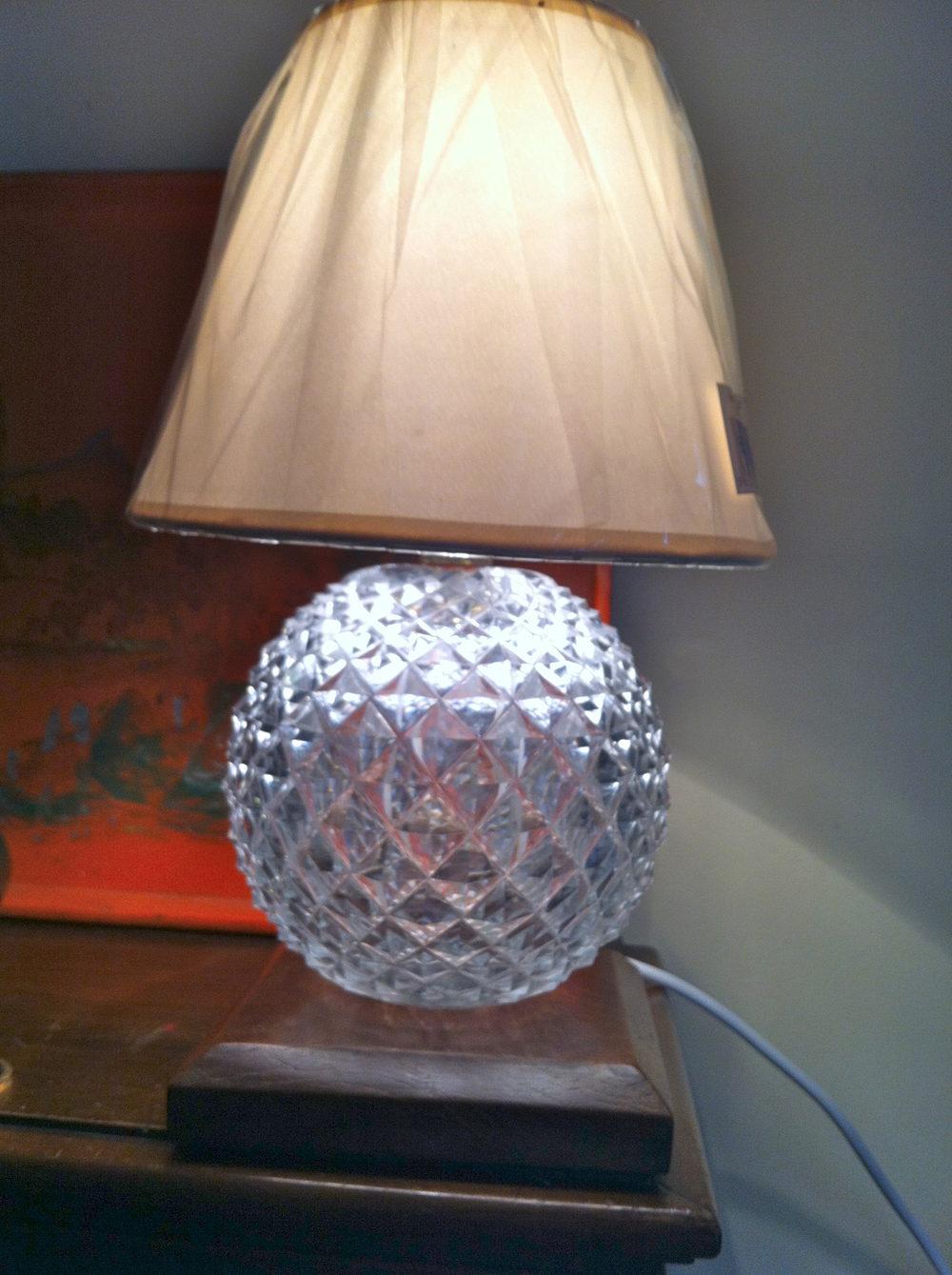 Antiques Atlas Victorian Cut Glass Table Lamp