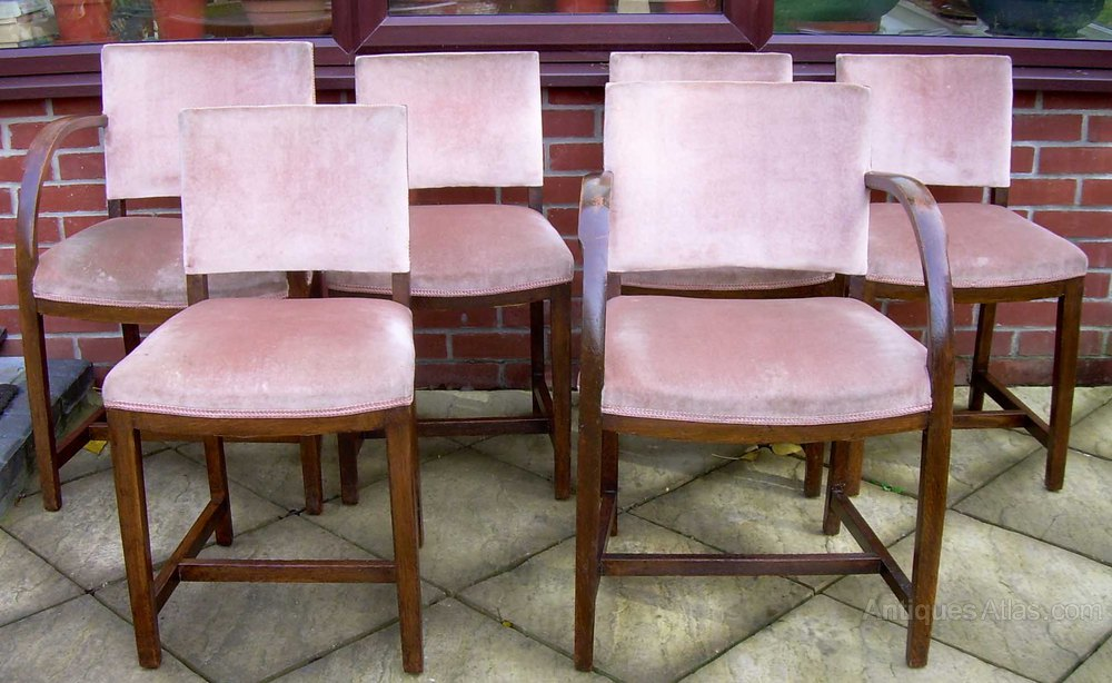 6 Heals 1930 s Dining Chairs Antiques Atlas
