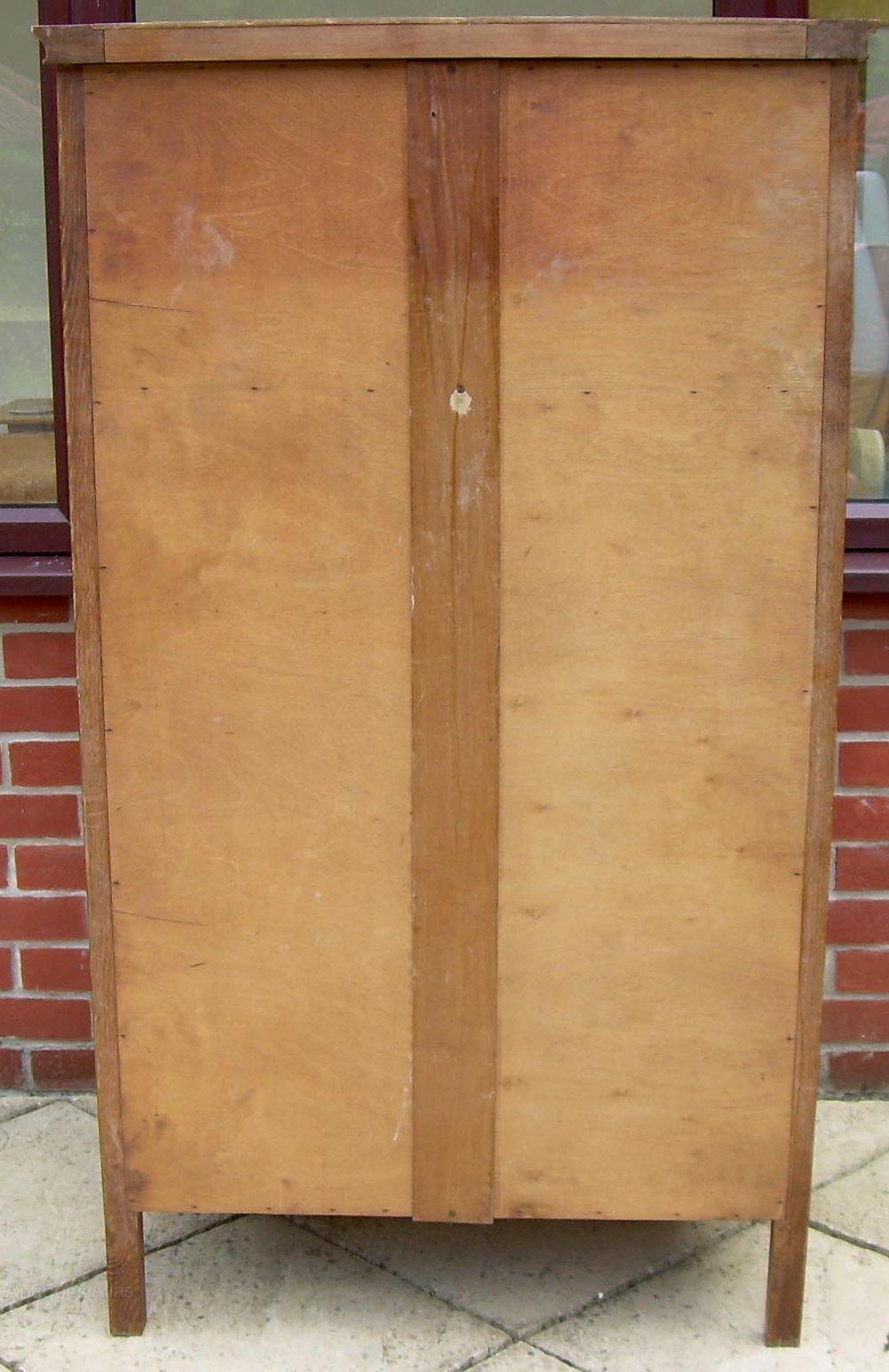 A heal 39 s golden oak owl cabinet antiques atlas for Kitchen cabinets 50cm wide
