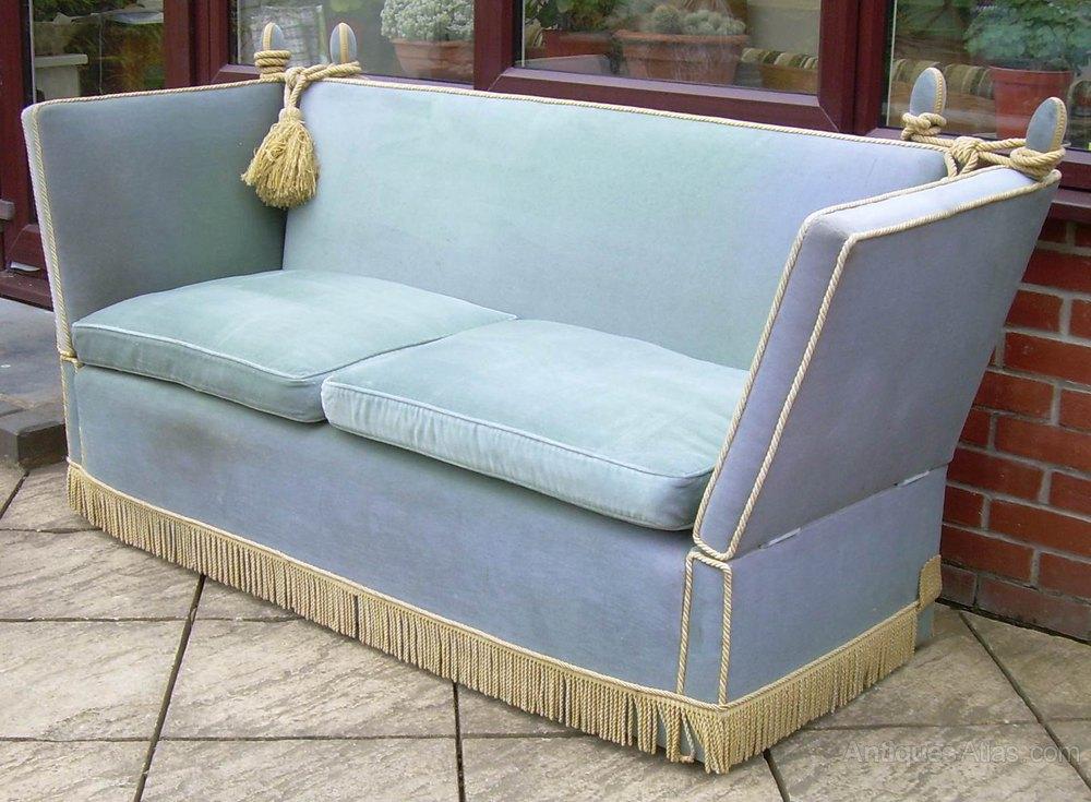 antiques atlas a knoll settee or sofa. Black Bedroom Furniture Sets. Home Design Ideas